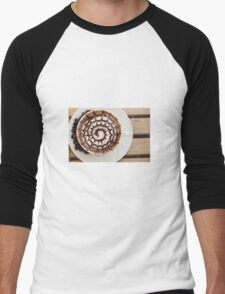 Cappuccino Men's Baseball ¾ T-Shirt