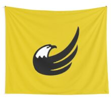 Libertarian Torch Eagle Freedom Capitalism Wall Tapestry
