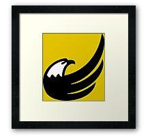 Libertarian Torch Eagle Freedom Capitalism Framed Print
