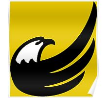Libertarian Torch Eagle Freedom Capitalism Poster