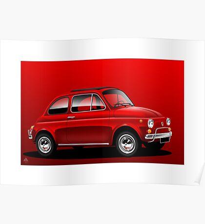 Poster artwork - Fiat 500L Poster