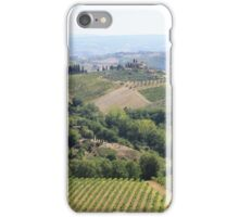 Overlooking Tuscany iPhone Case/Skin