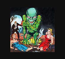 Evil Alien with his pretty captives Unisex T-Shirt
