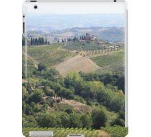 Overlooking Tuscany iPad Case/Skin
