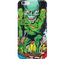 Evil Alien with his pretty captives iPhone Case/Skin