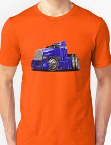 Cartoon semi-truck Unisex T-Shirt