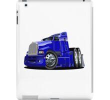 Cartoon semi-truck iPad Case/Skin