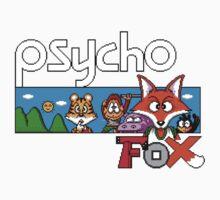 PSYCHO FOX - SEGA MASTER SYSTEM One Piece - Short Sleeve