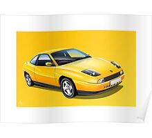 Poster artwork - FIAT Coupe Poster