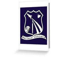 Believe Achieve Greeting Card
