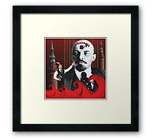 Freedom - Red Waves of History Framed Print