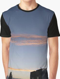 Sunset Serpent Graphic T-Shirt