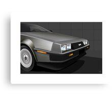 Poster artwork - DeLorean DMC-12  Canvas Print