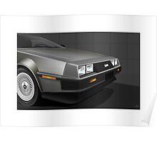 Poster artwork - DeLorean DMC-12  Poster