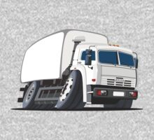 Cartoon delivery or cargo truck One Piece - Long Sleeve