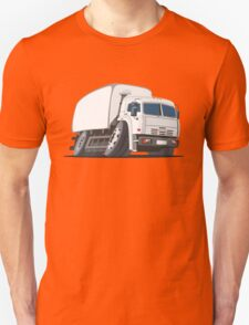 Cartoon delivery or cargo truck Unisex T-Shirt