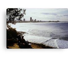 Burleigh Gold Coast Beach Canvas Print