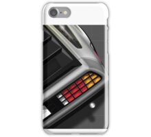 Poster artwork - DeLorean DMC-12 iPhone Case/Skin