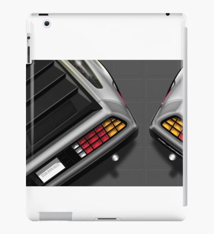 Poster artwork - DeLorean DMC-12 iPad Case/Skin
