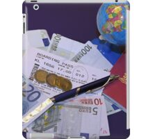 Time for your vacation planning iPad Case/Skin