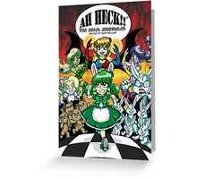 Ah Heck!! The Angel Chronicles Poster Greeting Card