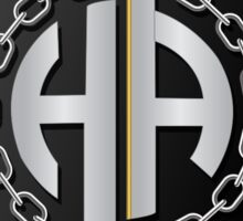 Half Ace Breaks Your Chains  Sticker