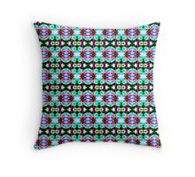 Pink Cosmos Blue (VN.36) Throw Pillow