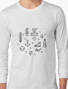 Let's pixelate Long Sleeve T-Shirt