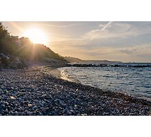 An italian sunset Photographic Print