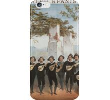 Performing Arts Posters The celebrated Spanish Students with Abbeys Humpty Dumpty Combination 0638 iPhone Case/Skin