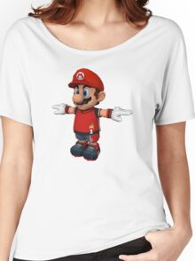 Mario sprite Women's Relaxed Fit T-Shirt