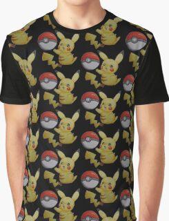 Pikachu pokemon Graphic T-Shirt