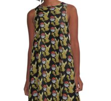 Pikachu pokemon A-Line Dress