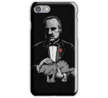 The Cat Father iPhone Case/Skin