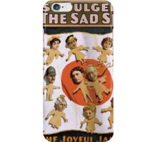 Performing Arts Posters Mathews Bulger presenting rag time opera By the sad sea waves 2017 iPhone Case/Skin