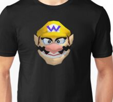 Wario's face Unisex T-Shirt