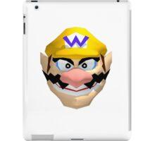Wario's face iPad Case/Skin