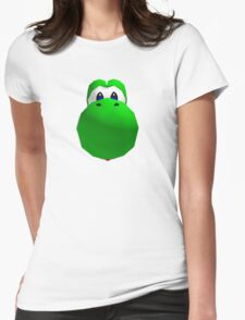 Yoshi's face Womens Fitted T-Shirt