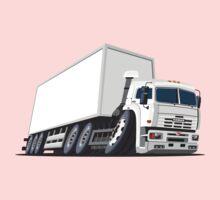 Cartoon cargo truck Kids Tee