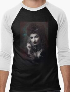Goth Queen III Men's Baseball ¾ T-Shirt