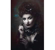 Goth Queen III Photographic Print