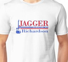 VOTE Jagger Richardson for Satisfaction Unisex T-Shirt