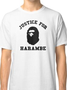 Justice for Harambe Classic T-Shirt