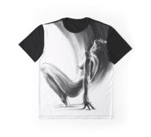 emergent II - conté drawing Graphic T-Shirt