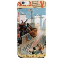 Performing Arts Posters Imre Kiralfys gigantic aquatic historical spectacle Venice the bride of the sea at Olympia 1534 iPhone Case/Skin