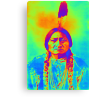 SITTING BULL Canvas Print