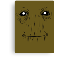 Groot face Canvas Print