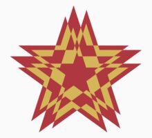 STAR WORLD RED GOLD / GOLDEN / DEEP YELLOW One Piece - Long Sleeve