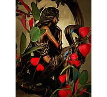 Lady in the Looking Glass Photographic Print
