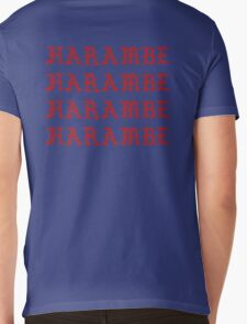 HARAMBE YEEZY Mens V-Neck T-Shirt